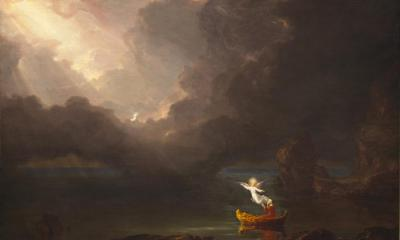 Thomas Cole - The Voyage of Life Old Age, 1842 (National Gallery of Art)
